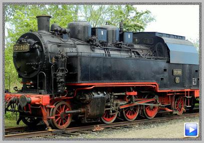 Dampflokomotive am Schönberger Strand