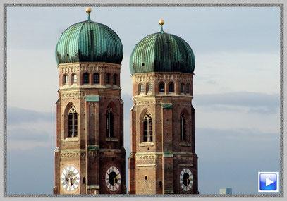 Der Dom zu Unserer Lieben Frau in der Münchner Altstadt (Frauenkirche)