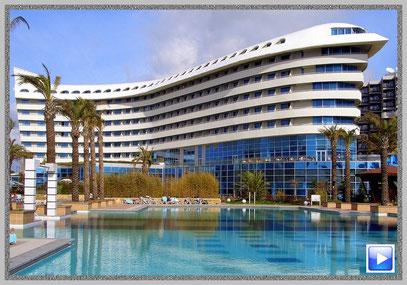 """Das """"Concorde de luxe resort Lara"""" erhielt bereits die Auszeichnung als bestes All-Inclusive-Hotel der Welt"""