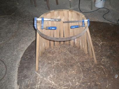 Herstellung Eines Holzfasses