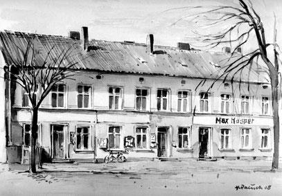 Amthaus vor dem Krieg - heute nicht mehr vorhanden