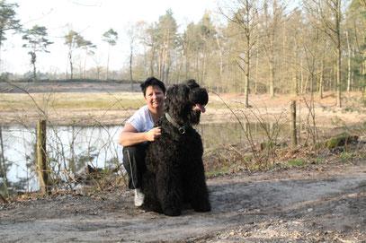 Zwarte Russische Terrier from Lukaya's dream