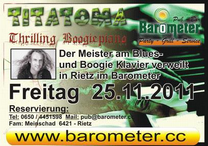 Titatoma 25.11.2011 im Barometer Rietz