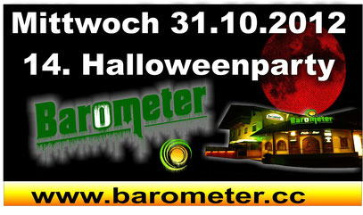 Halloween Party 2012 im Barometer in Rietz