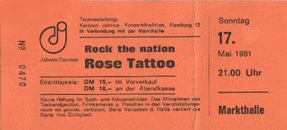 Ticket front