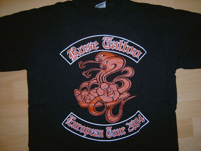 Tourshirt Front
