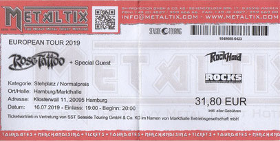 Ticket # Metaltix