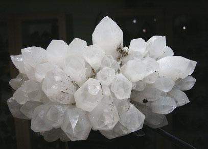 Artischockenquarz / Pyrit - Rumänien
