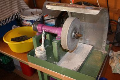 Schleif & Poliermaschine ( Eigenbau )