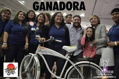 GANADORA DE LA TROPIKAL BIKE