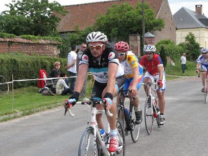 Ludovic Carpentier et Samuel Bruhier à ONEUX le 16 Juin