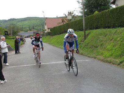 Dimitri Poret et Julien Guyart à BOUVAINCOURT SUR BRESLE le 4 Juin