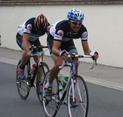 Christophe Maloigne et Samuel Bruhier à FEUQUIERES EN VIMEU le 21 Août