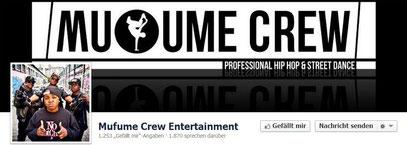 Mufume Crew bei Facebook - klick mich...