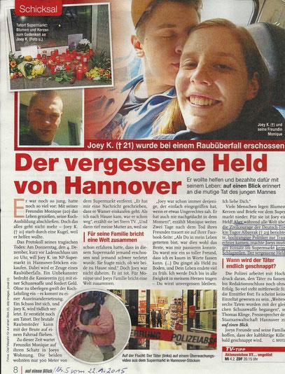 TV-Zeitschrift - Auf einen Blick, Nr.5 vom 22.01.2015