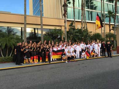 WKU Nationalteam Deutschland - WM 2016  in USA Orlando - klick auf das Bild für weitere Infos