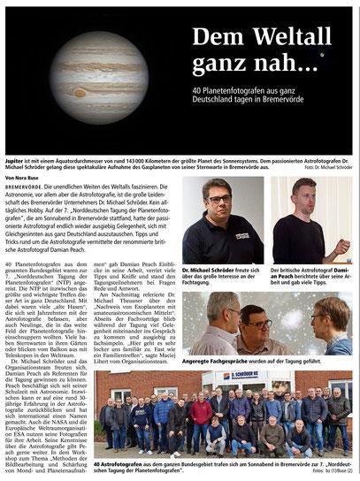 Bremervörder Zeitung vom 13.01.2020 (Klick für Vergrößern)