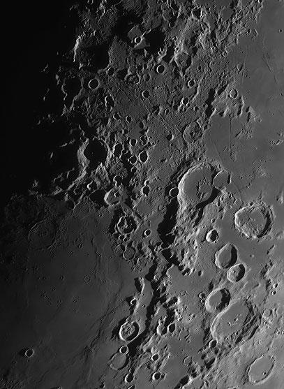 Das Rillensystem Rimae Goclenius.