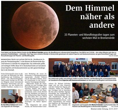 Bremervörder Zeitung, 22.01.2019 (Klick zum Vergrößern)