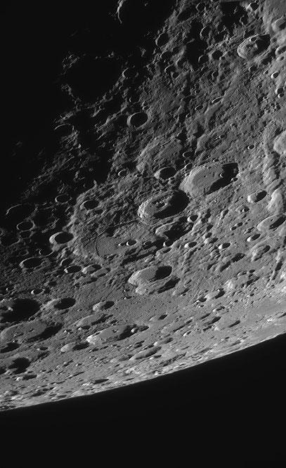 Die Krater Jansen und Fabricius.