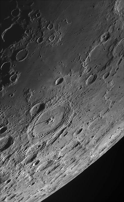 Gegend um Krater Petavius