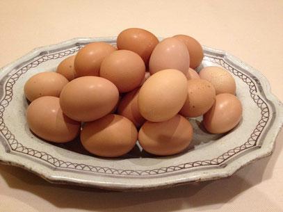 安曇野の新鮮な平飼い卵を使って