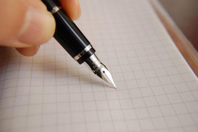 Bild mit Stift