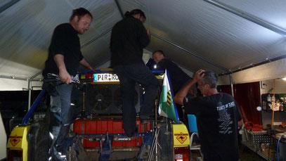 Vielen Dank nochmals an Henry , Matti ,Tilo und Peter für die großartige Hilfe
