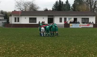 Für das Spiel in Windischleuba hatte sich unsere Elf einiges vorgenommen, musste aber am Ende mit einem Punkt sogar noch zufrieden sein. (Foto: Tobias Muxfeldt)
