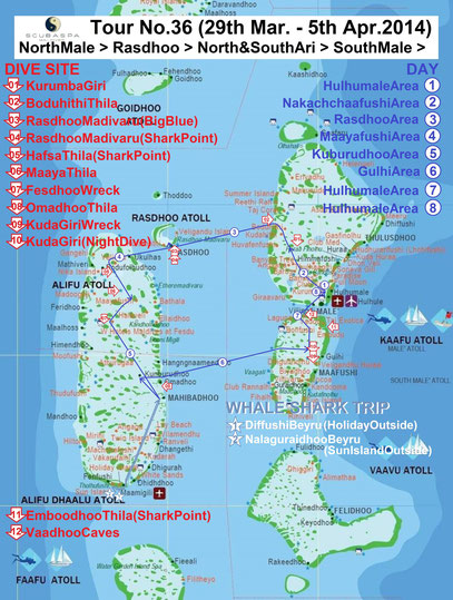 Map mit freundlicher Genehmigung von Moosa