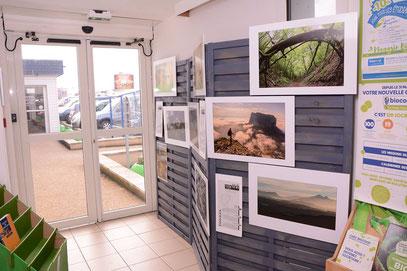 Ma photo visible dès l'entrée du magasin ! © Florian Bernier