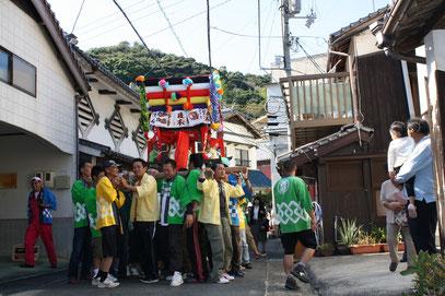 入選  大谷 秋野  タイトル 『上関どんでん祭り』