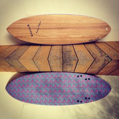 """#288 Yassine's Kneeboard 6'1"""" x 23""""¼ x 2""""7/8"""