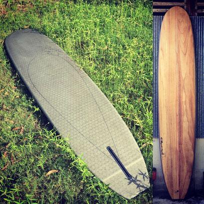 longboard surfboard Wood noserider