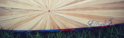 Elleciel Custom Surfboards Phuket Thailand Wood Epoxy EPS  Mini Simmons