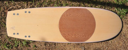Elleciel Custom Surfboards Phuket Thailand mini simmons quad wood