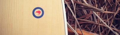 Elleciel Custom Surfboards Phuket Thailand Wood Epoxy EPS  Mini Simmons Quad