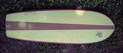 Mini Simmons surf quad Elleciel Custom Surfboards Phuket Thailand
