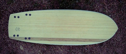 Mini Simmons quad Elleciel Custom Surfboards Phuket Thailand