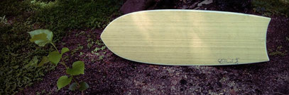 Mini Simmons bamboo surf quad Elleciel Custom Surfboards Phuket Thailand