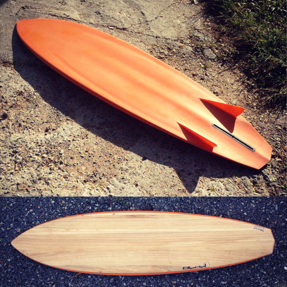 Russ Short Bonzer3 Bonzer Elleciel Custom Surfboards Phuket Thailand Paulownia Wood Epoxy EPS