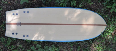 mini simmons quad wood surfboard elleciel thailand