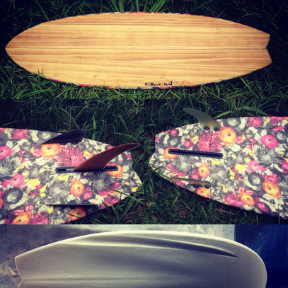 BONZER3WIN Bonzer3 Bonzer Elleciel Custom Surfboards Phuket Thailand Paulownia Wood Epoxy EPS