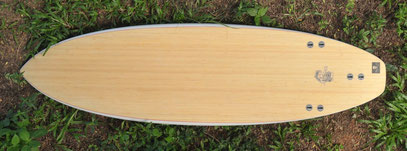 elleciel bamboo custom surfboard