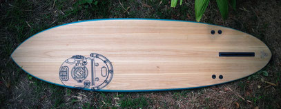 "#215 MK-V 6'5"" A single fin with some extras..."