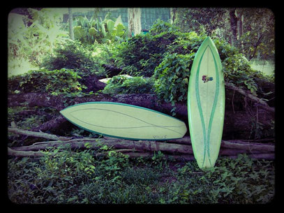Sam Egan single fin replica Elleciel Custom Surfboards Phuket Thailand