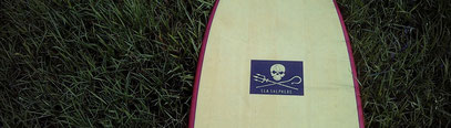 Elleciel Custom Surfboards Phuket Thailand Wood Epoxy EPS  Mini Simmons Quad