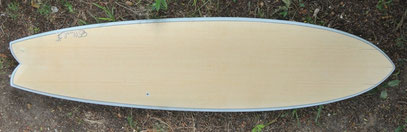 wood fish Elleciel Custom Surfboards Phuket Thailand