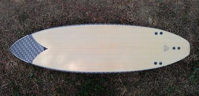 elleciel surfboards wood inlay