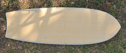 Mini Simmons quad Elleciel Custom Surfboards Phuket Thailand